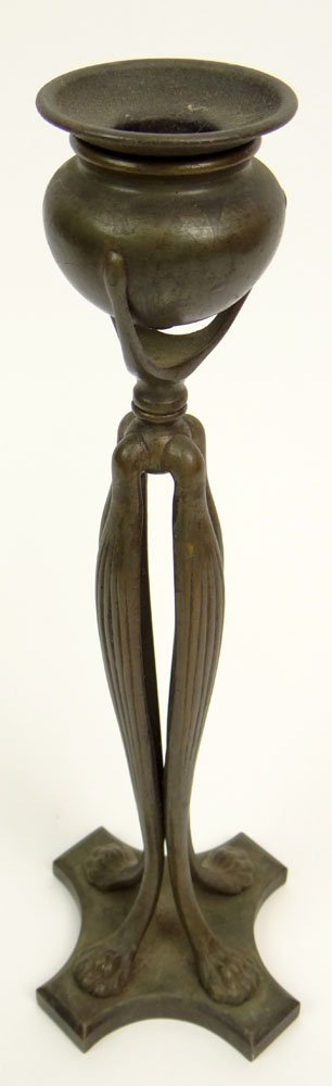 "Circa 1910 Tiffany Studios New York Bronze ""Cats Paw"""