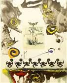Salvador Dalí Spanish (1904-1989) Color Lithograph.