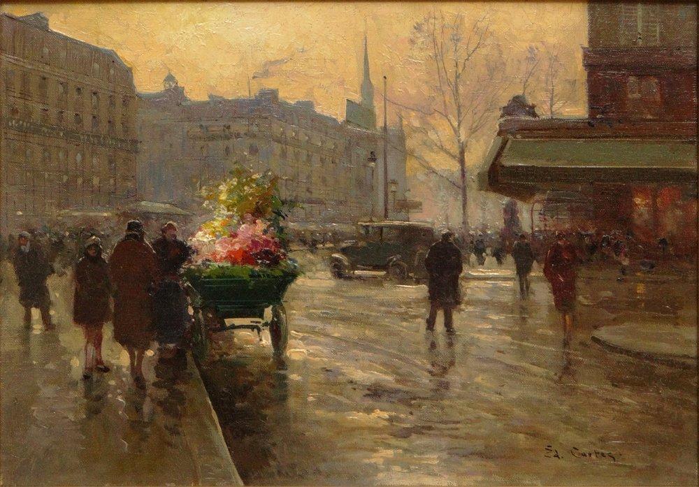 Edouard Léon Cortès, French (1882-1969) Oil on Canvas