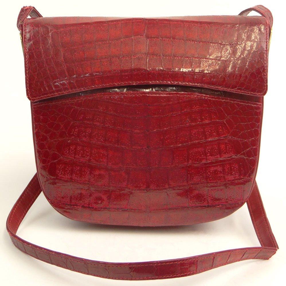 "Lady's Vintage Italian Oro de Medici ""Cherry Red"""