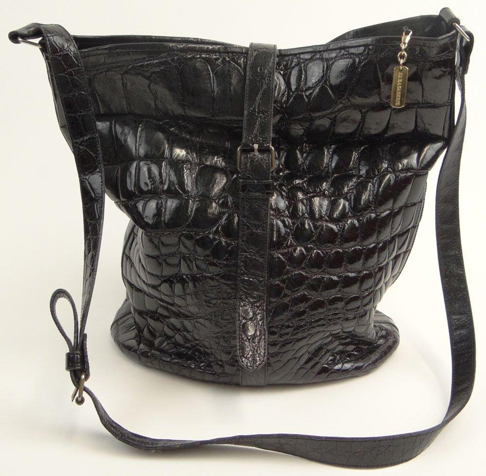 Lady's Vintage French Jean Marlaix La Baggerie Black
