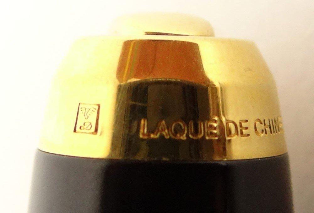 Vintage S.T. Dupont Paris Laque De Chine Fountain Pen. - 3