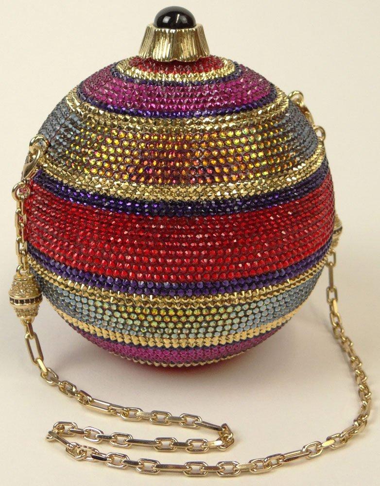 Brand New Judith Leiber Noel Sphere Ornament