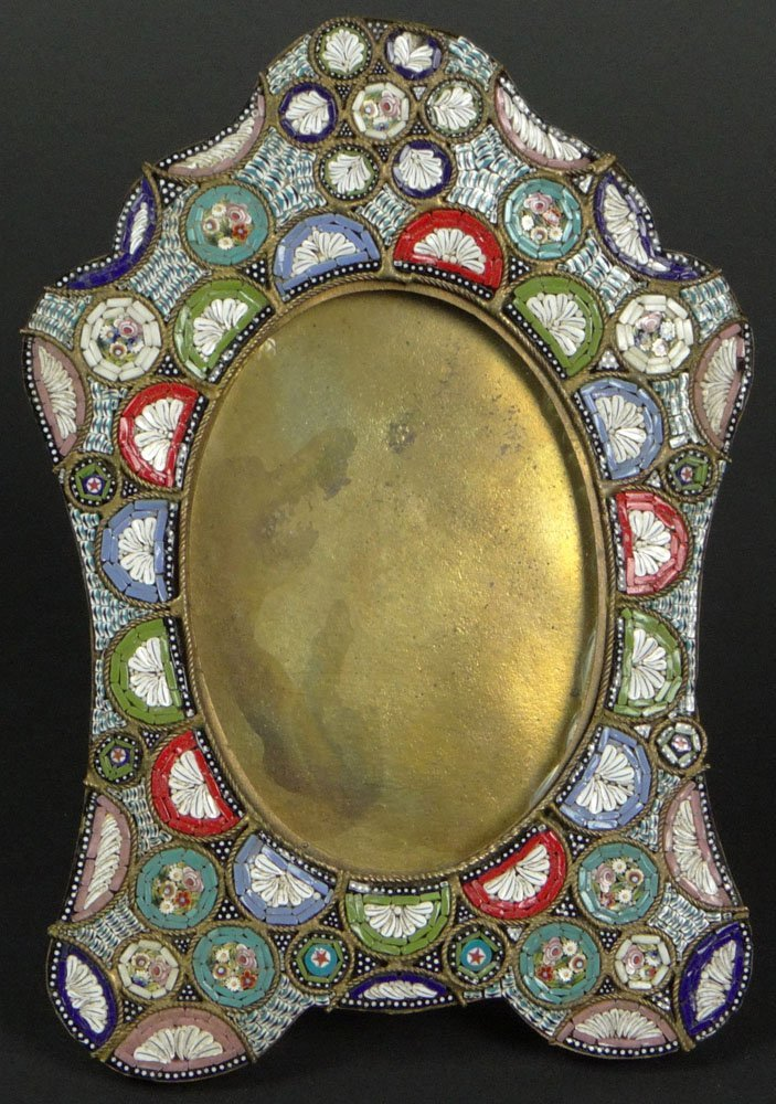 Early 20th Century Italian Millefiore Micro Mosaic and