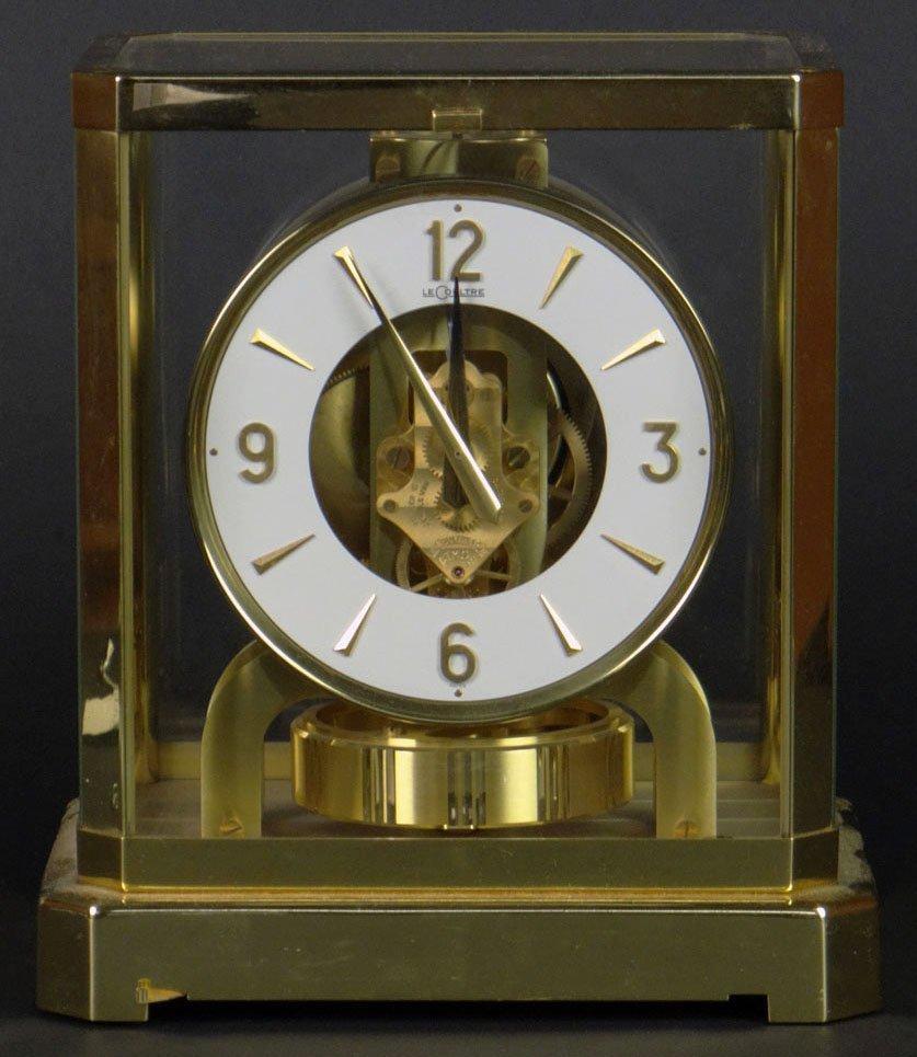 """Vintage LeCoultre/Jaeger Le Coultre Brass """"Atmos"""""""
