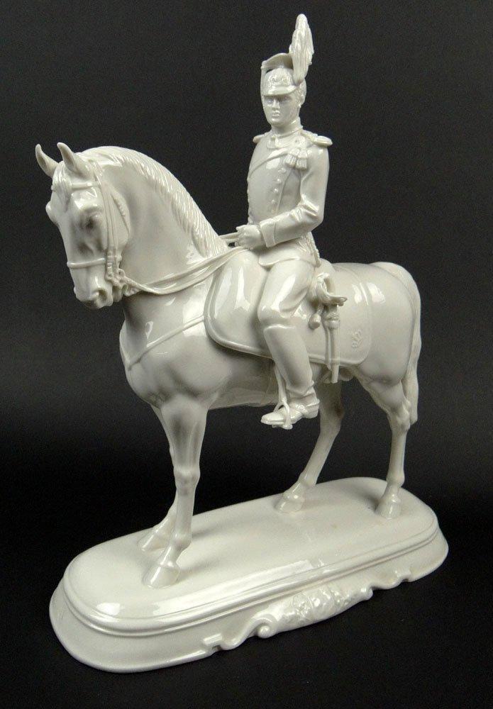 20th Century Nymphenburg Blanc De Chine Porcelain