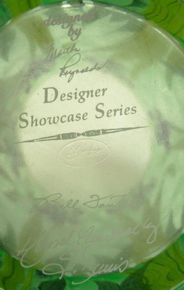 "2001 Fenton Designer Showcase Series Art Glass ""Iris"" - 5"