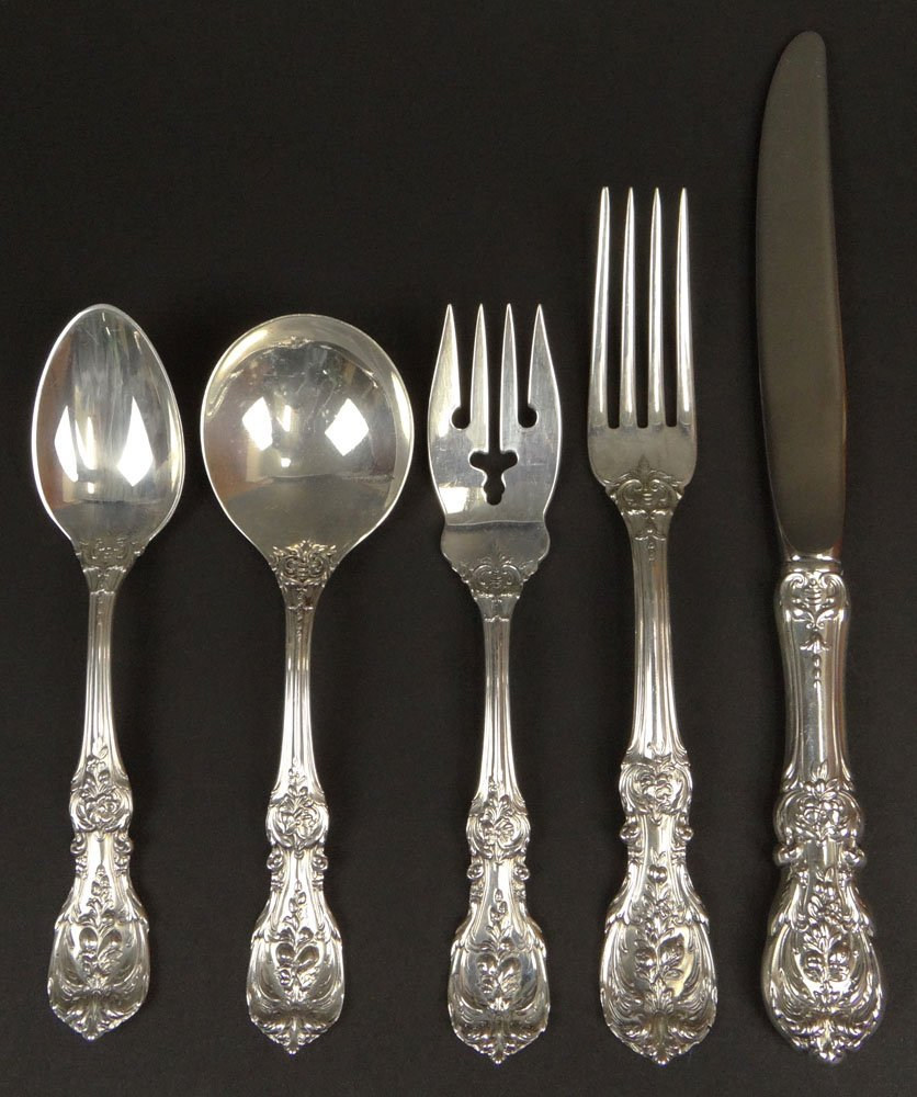 Seventy Two (72) Piece Reed & Barton Sterling Silver
