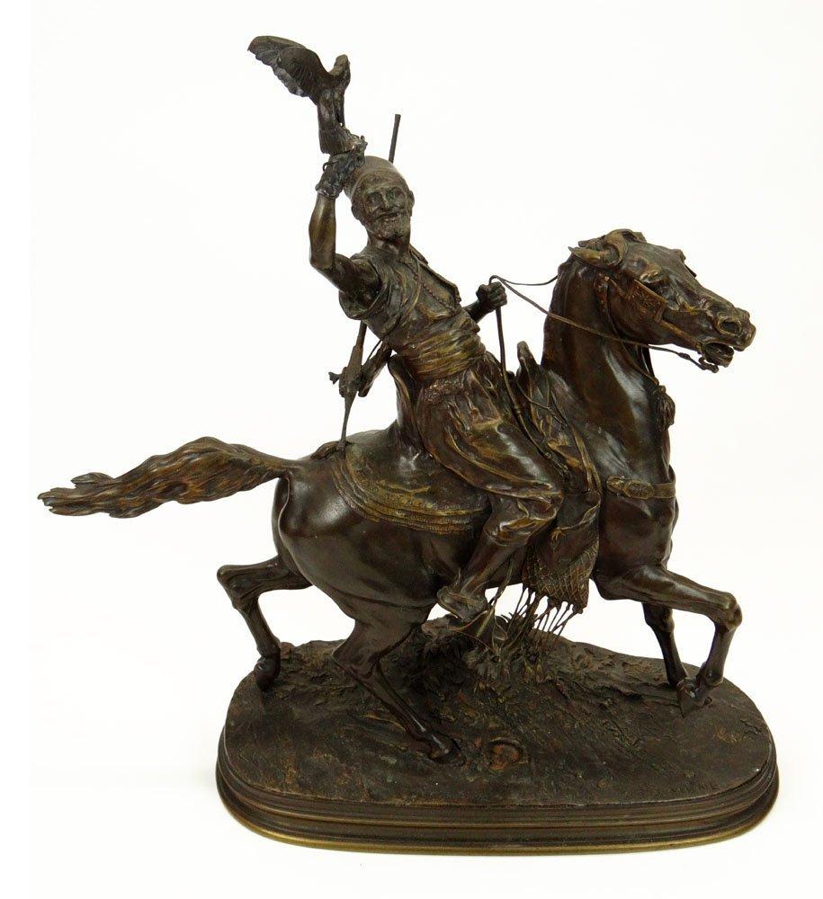 Pierre Jules Mène French (1810-1879) Bronze Sculpture