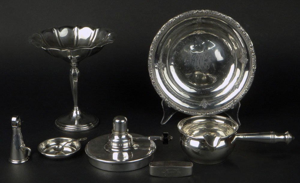 Miscellaneous Sterling Silver and Silver Plate Scrap