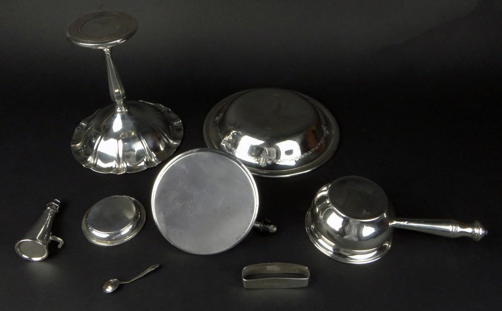 Miscellaneous Sterling Silver and Silver Plate Scrap - 6
