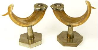 Anthony Redmile, British (20th C) Pair Mounted Rams