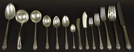 Eighty-Seven (87) Piece Set Towle Sterling Silver