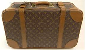 Vintage Louis Vuitton Overnighter Leather Soft Sided