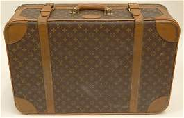 Vintage Louis Vuitton Weekender Leather Soft Sided