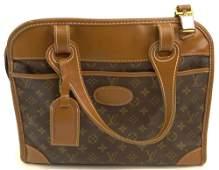Vintage Louis Vuitton Leather Soft Sided Shoulder Bag