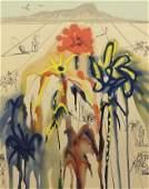 Salvador Dalí, Spanish 1904-1989) Color Lithograph
