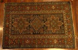 Semi Antique Persian Tribal Rug Unsigned Soiled Wear