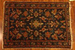 Semi Antique Persian Rug Unsigned Soiled Worn Areas