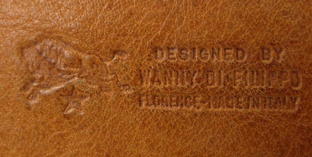 Vintage Il Bisonte Leather Attaché/Messenger Bag. - 5