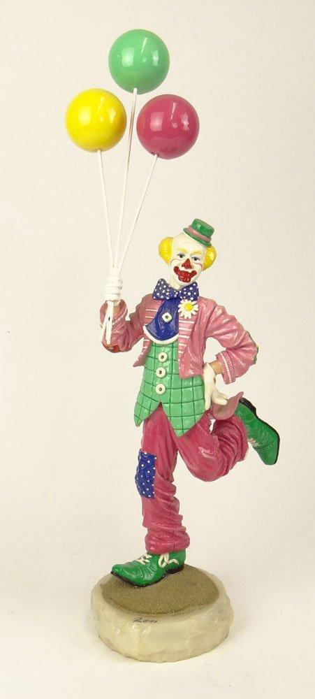 "Circa 1993 Limited Edition Ron Lee Clown ""Sho Sho"" on"