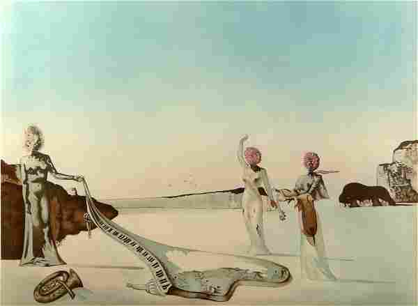 Salvador Dalí, Spanish, 1904-1989) Color Lithograph