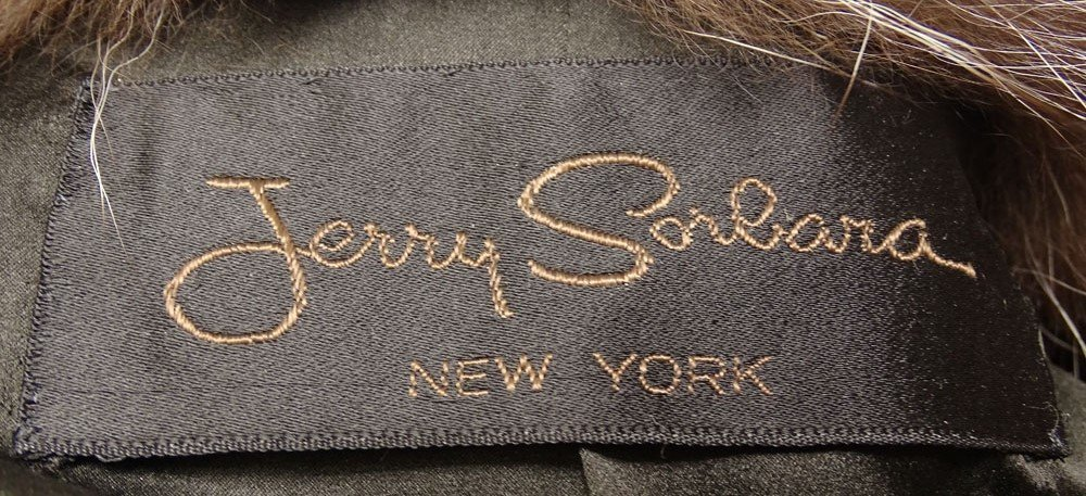 Retro Jerry Sorbara Full Length Silver Fox Fur Coat. - 4