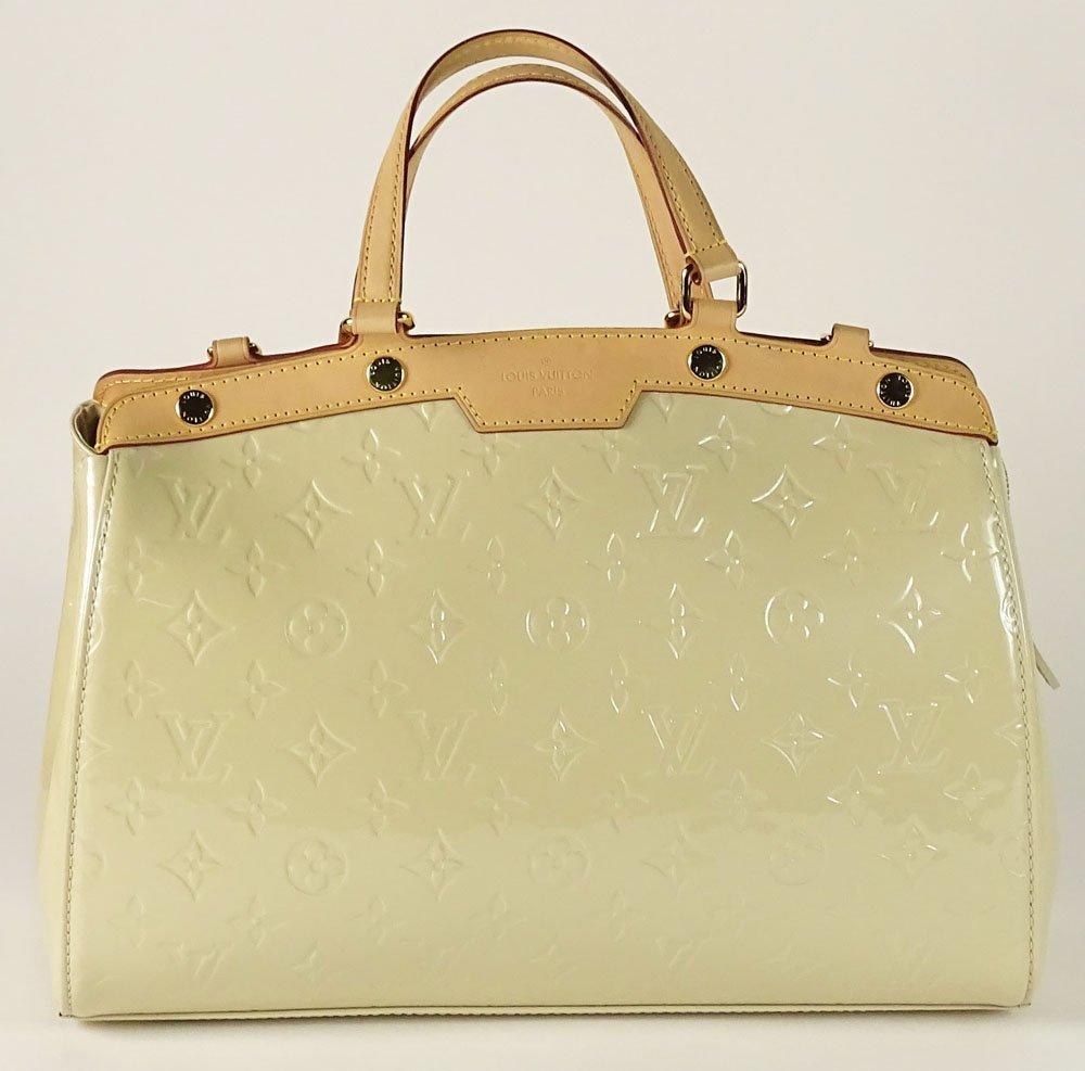Louis Vuitton Brea MM MV Blanc Corail Lady's Handbag.