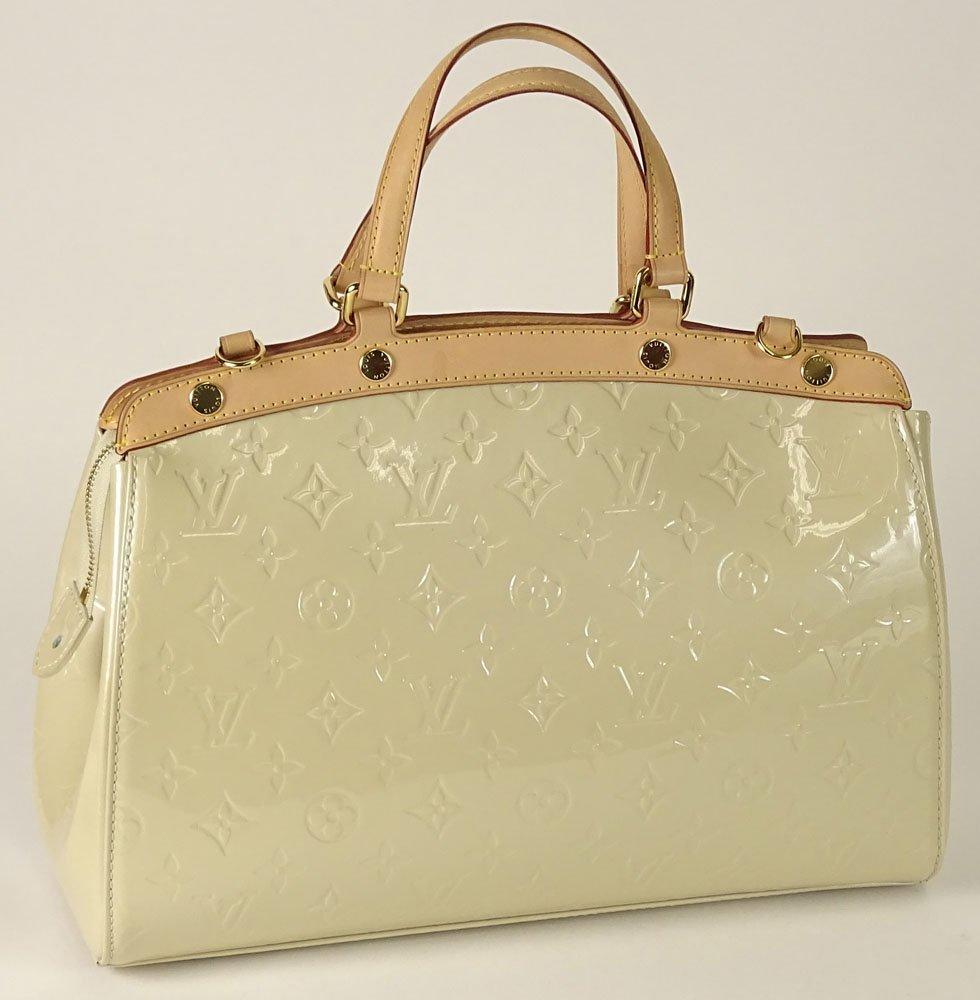 Louis Vuitton Brea MM MV Blanc Corail Lady's Handbag. - 2