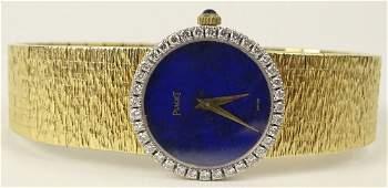 Piaget 18 Karat Yellow Gold Diamond Ladys Flexible