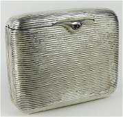 Early 20th Century German 900 Silver Accordion