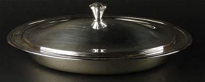 Christofle Silver Plate Large Oval Vegetable Serving