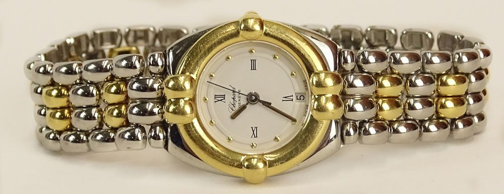 Lady's Vintage Chopard 18 Karat Yellow Gold and