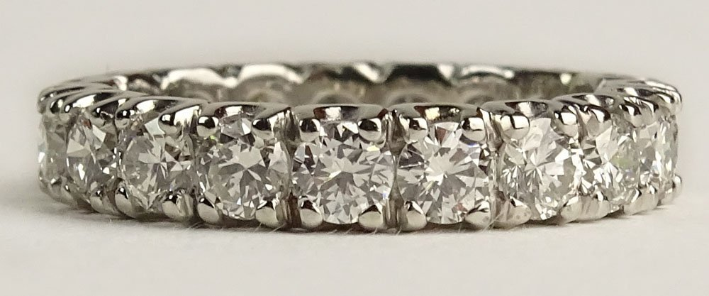 Lady's approx. 2.10 Carat Round Cut Diamond and