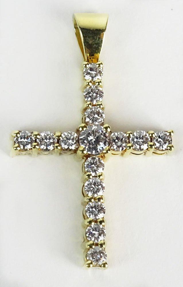 Lady's Mayor's Jewelers approx. 1.65 Carat Round Cut