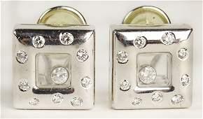 Lady's Chopard approx. .48 Carat Diamond and 18 Karat