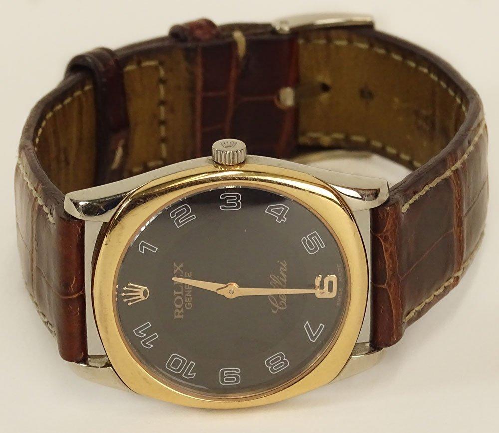 Men\'s Vintage Rolex Cellini Danaos Model #4233 18K