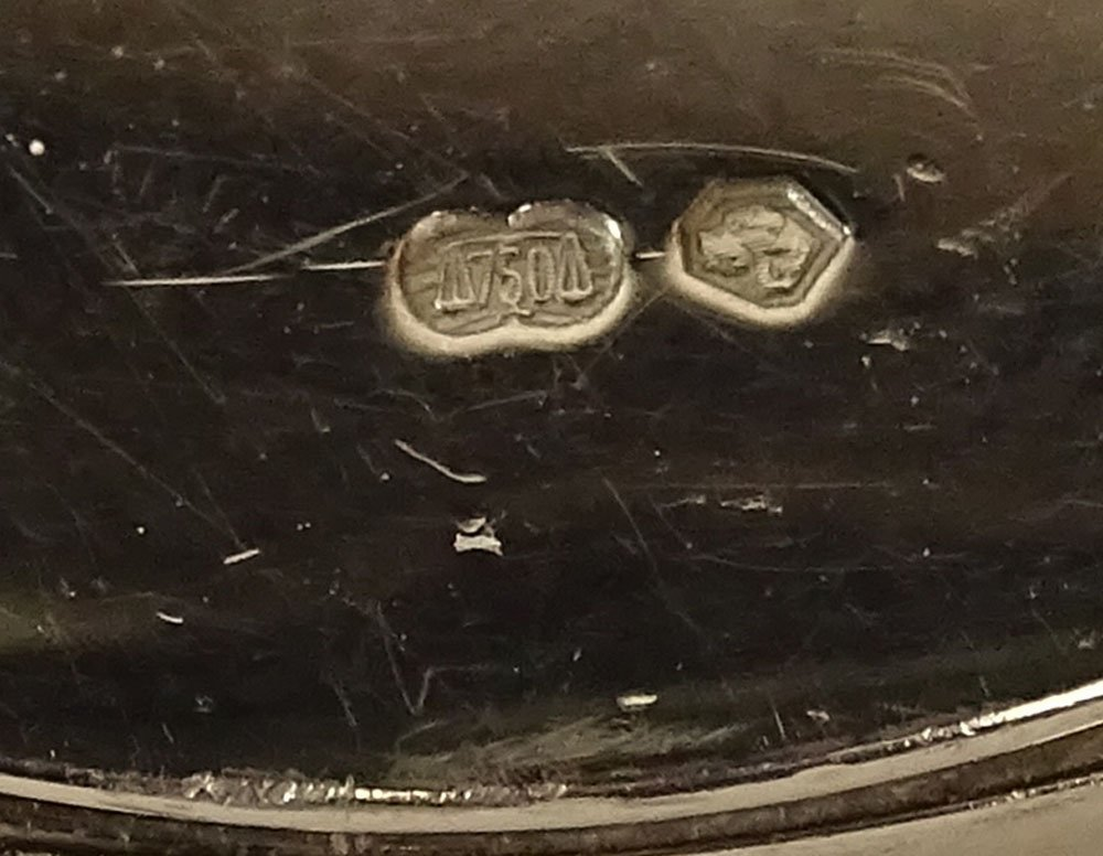 Men\'s Vintage Rolex Cellini Danaos Model #4233 18K - 4