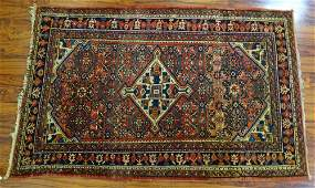 SemiAntique Persian Rug Overall Good Condition Minor