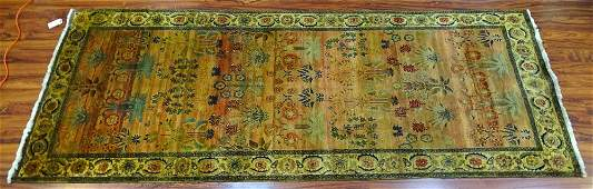Semi Antique Persian Wool Rug Unsigned Good