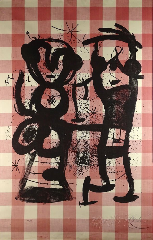Joan Miro, Spanish (1893-1983) circa 1969 color