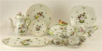 SeventyNine 79 Piece Set Herend Porcelain Rothschild