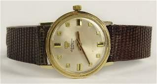 Vintage Jules Jurgensen 14 Karat Yellow Gold Watch with