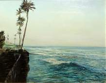 "Robert Hamblen, American (b 1932) Oil on Board ""Near"