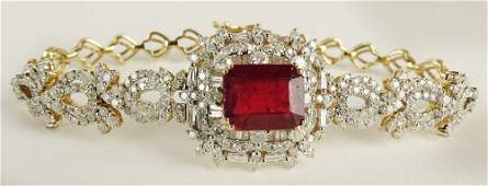AIG Certified 676 Carat Ruby and 380 Carat Diamond