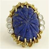 Vintage Approx. 1.20 Carat Round Brilliant Cut Diamond,