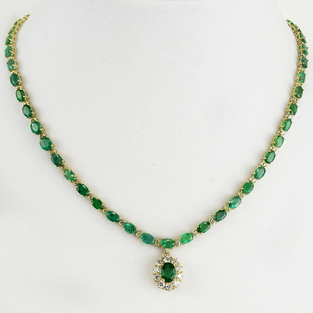 BHGL Appraised 24.0 Carat Oval Cut Emerald, 2.0 Carat