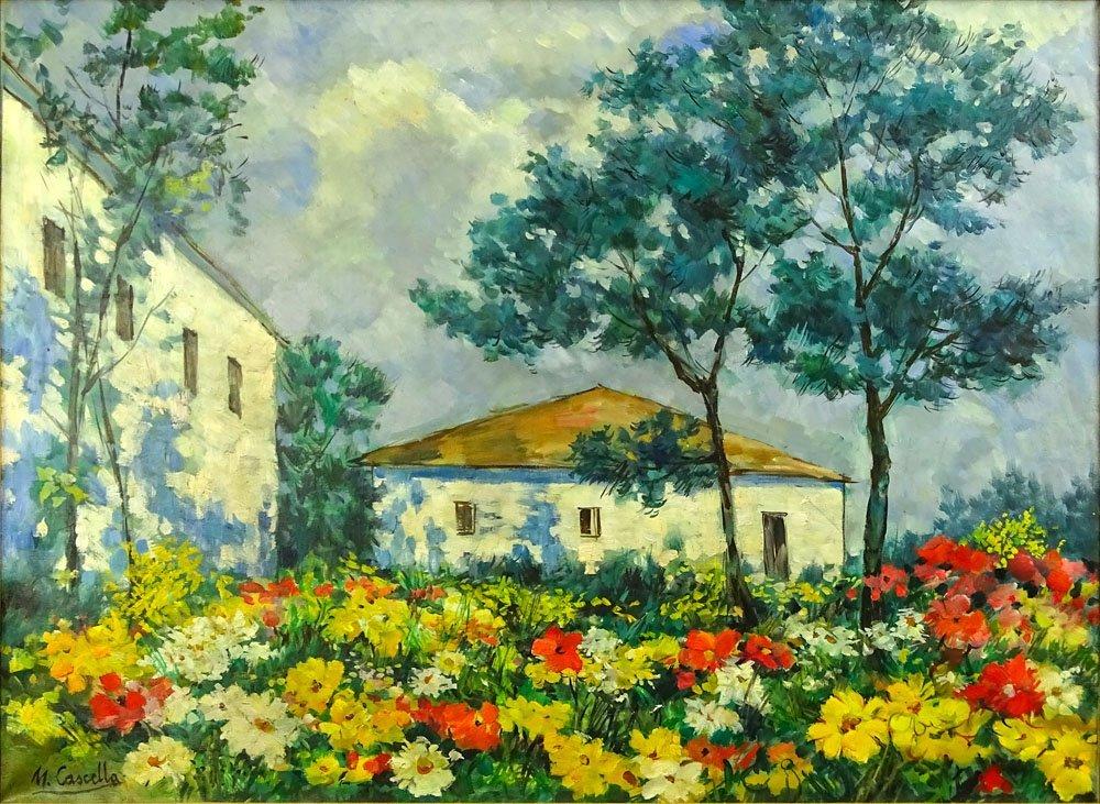 Michele Cascella, Italian (1892-1989) Oil on canvas
