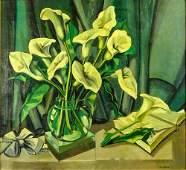 Tamara de Lempicka Polish 18981980 Oil on canvas