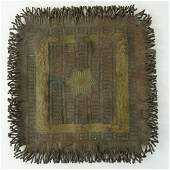 Antique Austrian Cold Painted Bronze Oriental Rug